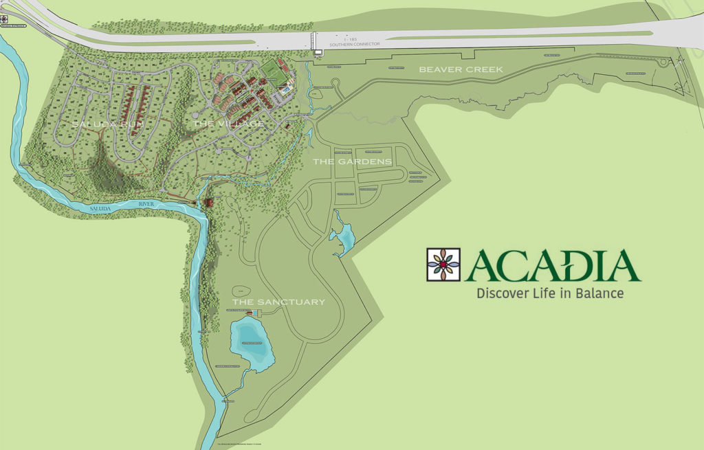 Acadia, Greenville, SC Master Plan